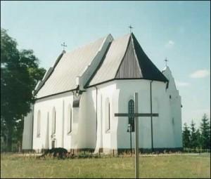 Костел в Ишкольди